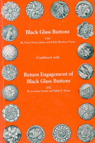 Black Glass Buttons Book