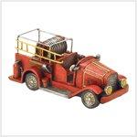 Fireman Truck-Polyresin (38198)