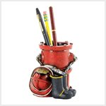 Fire Department Pen Holder (38197)