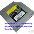 New MacBook A1342 AD-5960S Swap GS23N SATA Slot-in DVD Superdrive Burner Drive