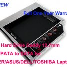 2nd Hard Drive Caddy 12.7mm IDE/PATA to SATA for ACER/ASUS/DELL/TOSHIBA Laptops