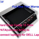 2nd Hard Drive Caddy 12.7mm IDE/PATA to IDE(connect laptops) for DELL Laptops