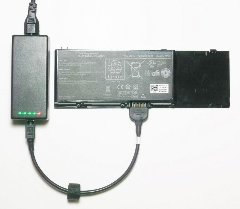 Generic External Laptop Battery Charger for Dell Inspiron 1000 1200 2200 Latitude 110L 312-0334