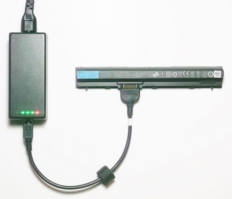 External Laptop Battery Charger for Dell Inspiron Mini 10v (1011) 312-0867 312-0907 312-0908 0931