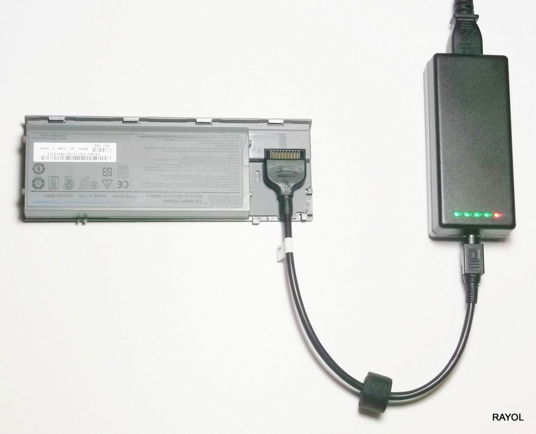 External Laptop Battery Charger for Dell Latitude D520 D600 D610 Precision M20 Workstation M20