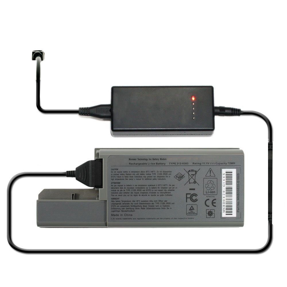 External Laptop Battery Charger for Dell Latitude D531 D531N D820 D830 Precision M4300