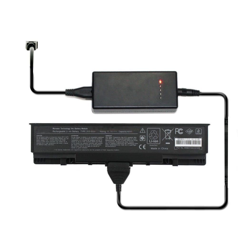 External Laptop Battery Charger for Dell Studio XPS 13 XPS 1340 312-0773 312-0774 P866C