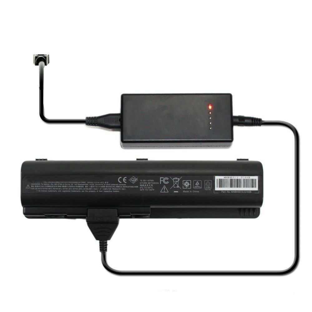 External Laptop Battery Charger for HP 493202-001 501717-362 501935-001 CQ20 CQ20-100