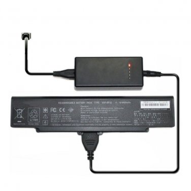 External Laptop Battery Charger for Sony VGP-BPS2 VGP-BPS2A VGP-BPS2B VGP-BPS2C VAIO VGN-FS515