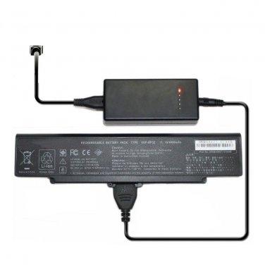 External Laptop Battery Charger for Sony Vaio VGN-C90 VGN-CR VGN-FE VGN-FE21 VGN-FE28 Series