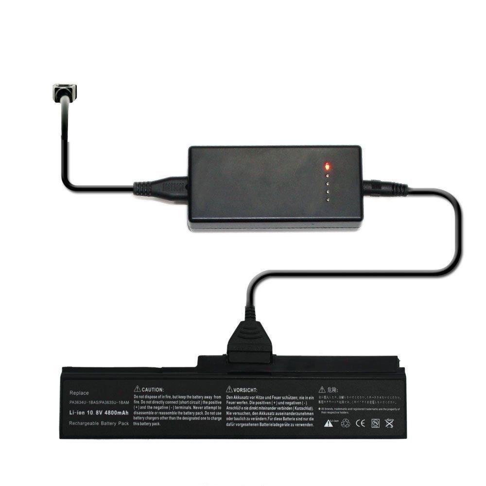 External Laptop Battery Charger for Toshiba Satellite P205 P200D P200 L355D L355 Series
