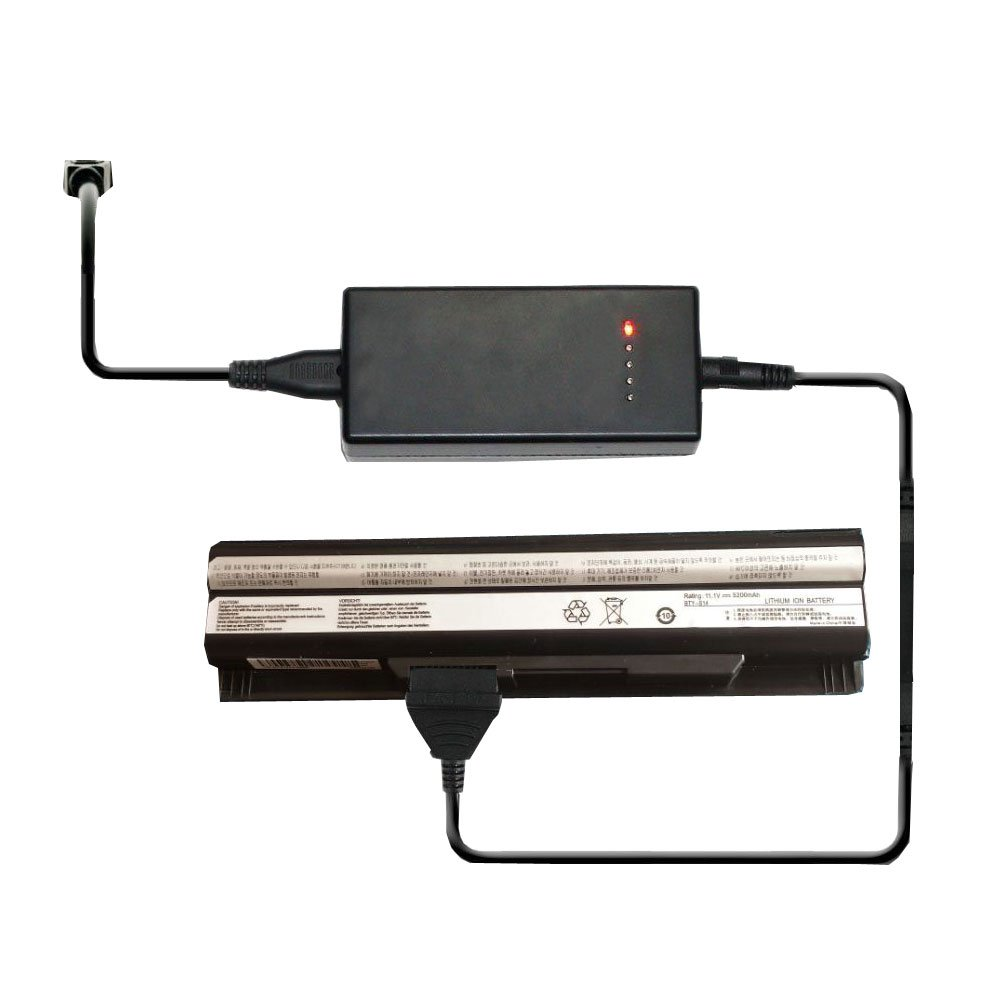 External Laptop Battery Charger for MEDION Akoya Mini E1311 E1312 E1315 MD97125 MD97127 MD97690