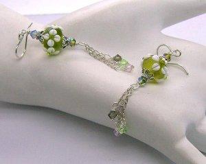 Moxie ~ Lampwork Earrings - 925