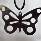 BLACK BUTTERFLY PENDANT