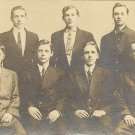 Vintage Annville Pa Real Postcard RPPC Gentlemen in Suits
