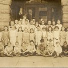 Vintage School Children Shamokin Pa Real Postcard RPPC