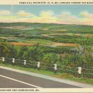 Vintage Town Hill Mountain Cumberland Maryland  Postcard
