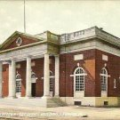 Vintage United States Post Office  Building Lebanon Pa Postcard