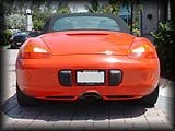 Boxster Rear Diffusers 97>02
