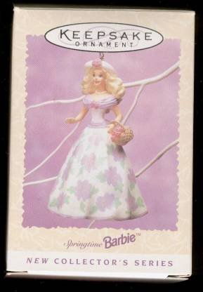 Hallmark 1995 Barbie Springtime Easter #1 Series