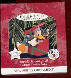 Hallmark 1997 Donald's Surprising Gift (Mickey & Co)