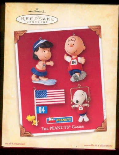 Hallmark 2004 Peanuts Games (set of 4)