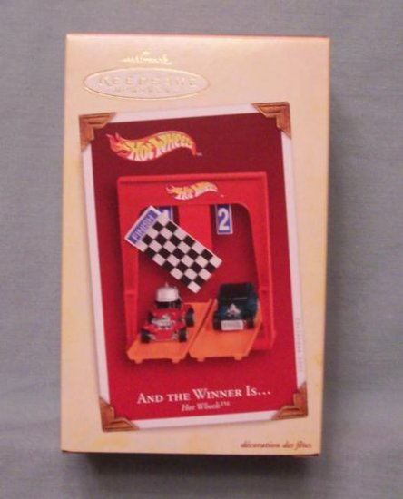 Hallmark 2005 Hot Wheels - And the Winner Is