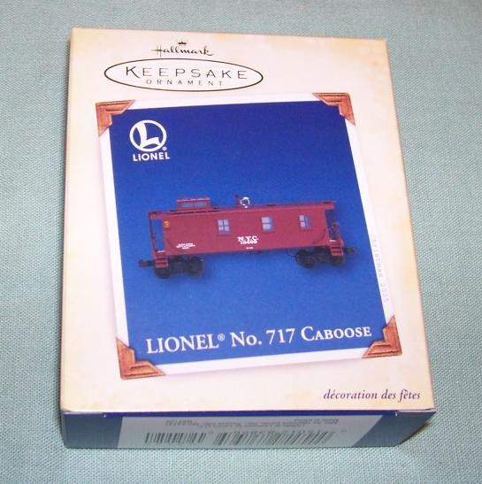 Hallmark 2005 Lionel No. 717 Caboose