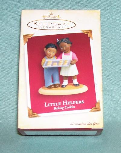 Hallmark 2005 Little Helpers - Baking Cookies  (Black)