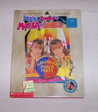 BOOK HC Mary-Kate Ashley - Hawaiian Beach