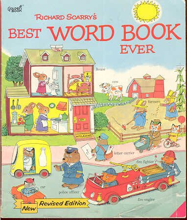 BOOK Richard Scarry - Best Word Book Ever (softcover)