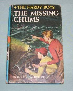 BOOK HC Hardy Boys #4 Missing Chums