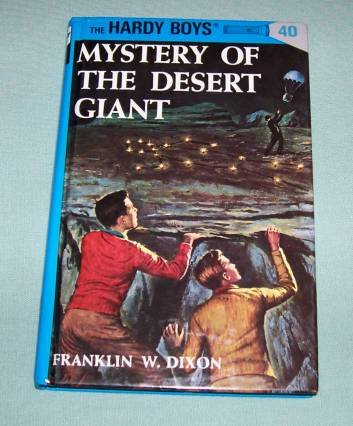 BOOK HC Hardy Boys #40 Desert Giant