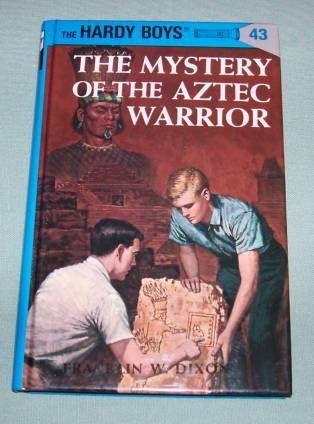BOOK HC Hardy Boys #43 Aztec Warrior