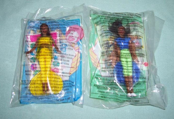 McDonalds Barbies 1999 Lot of 2  #BR9902C
