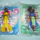 McDonalds Barbies 1999 Lot of 2  #BR9902C