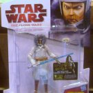 Star Wars TCW 2009 JEDI MASTER OBI-WAN KENOBI Figure CW48 Animated Series Winter