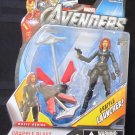 Marvel 2012 Avengers Movie GRAPPLE BLAST BLACK WIDOW FIGURE 14 Universe