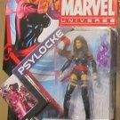 Marvel Universe 2012 X-MEN PSYLOCKE FIGURE 005 Ninja 3 3/4 Inch X-Force