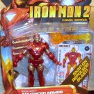 Marvel Universe 2010 IM 2 ADVANCED ARMOR IRON MAN FIGURE 32 Hasbro 3 3/4 Inch