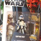 Star Wars TCW 2012 CLONE CAPTAIN REX FIGURE CW13 Animated Series