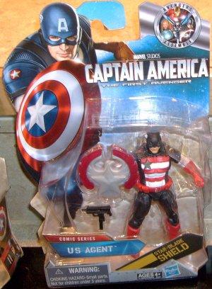 Marvel Captain America 2011 U.S. AGENT FIGURE 09 Avengers Universe