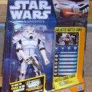 Star Wars 2011 WHITE SPACETROOPER Figure SL31 Expanded Universe Saga Legends