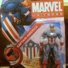 Marvel Universe 2010 WWII ERA CAPTAIN AMERICA Figure 008 3 3/4 Inch