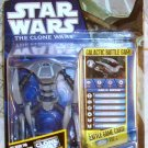 Star Wars TCW 2011 KAMINO AQUA DROID FIGURE CW46 Animated Series