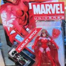 Marvel Universe 2012 AVENGERS SCARLET WITCH FIGURE 016 3 3/4 Inch X-men