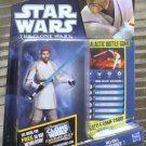 Star Wars TVC 2010 JEDI OBI-WAN KENOBI FIGURE CW40 Clone Animated Series
