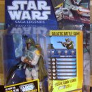 Star Wars 2011 BOBA FETT FIGURE SL30 Saga Legends Jedi Style