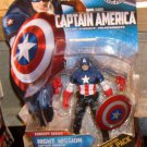 Marvel Movie 2011 NIGHT MISSION CAPTAIN AMERICA FIGURE 14 3 3/4 Inch Avengers