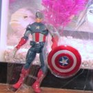 Marvel Universe 2012 AVENGERS VARIANT MOVIE CAPTAIN AMERICA Figure Loose Target Exclusive